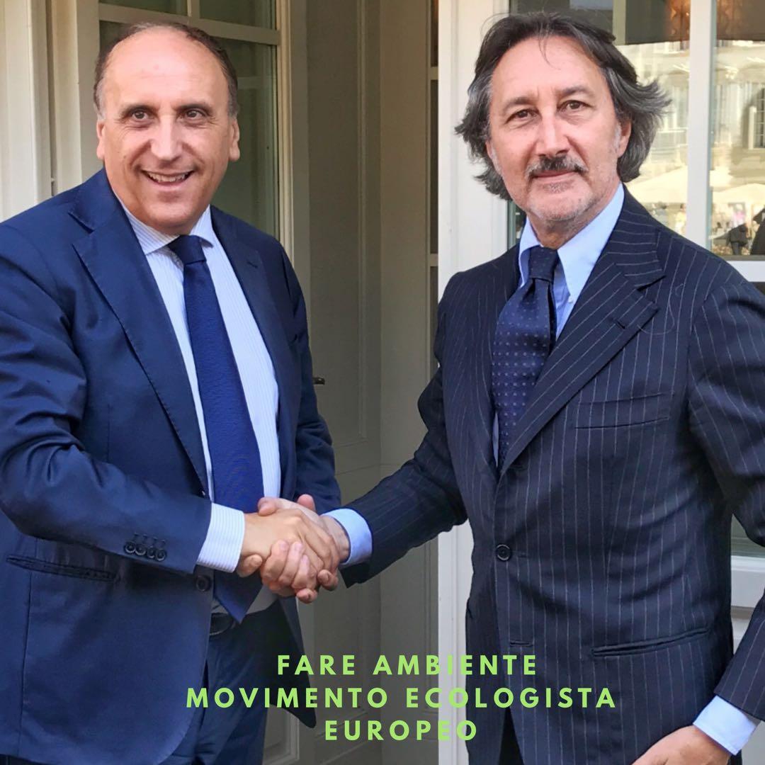 """Antonino Ubaldo Caltagirone in """"Fare Ambiente"""""""