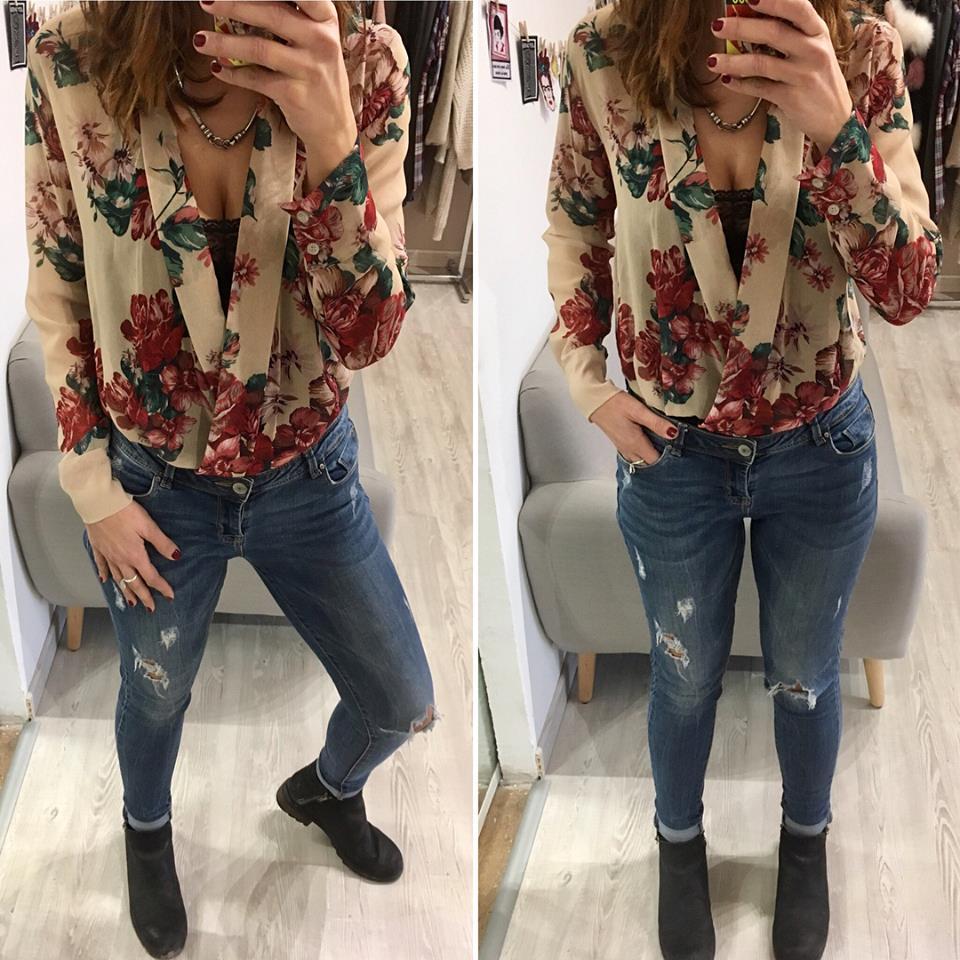 Camicia body e jeans